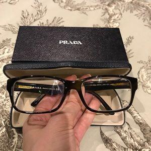 3e807a53d349 Prada Accessories - Prada Tortoise Glasses - in Havana Spotter Blue